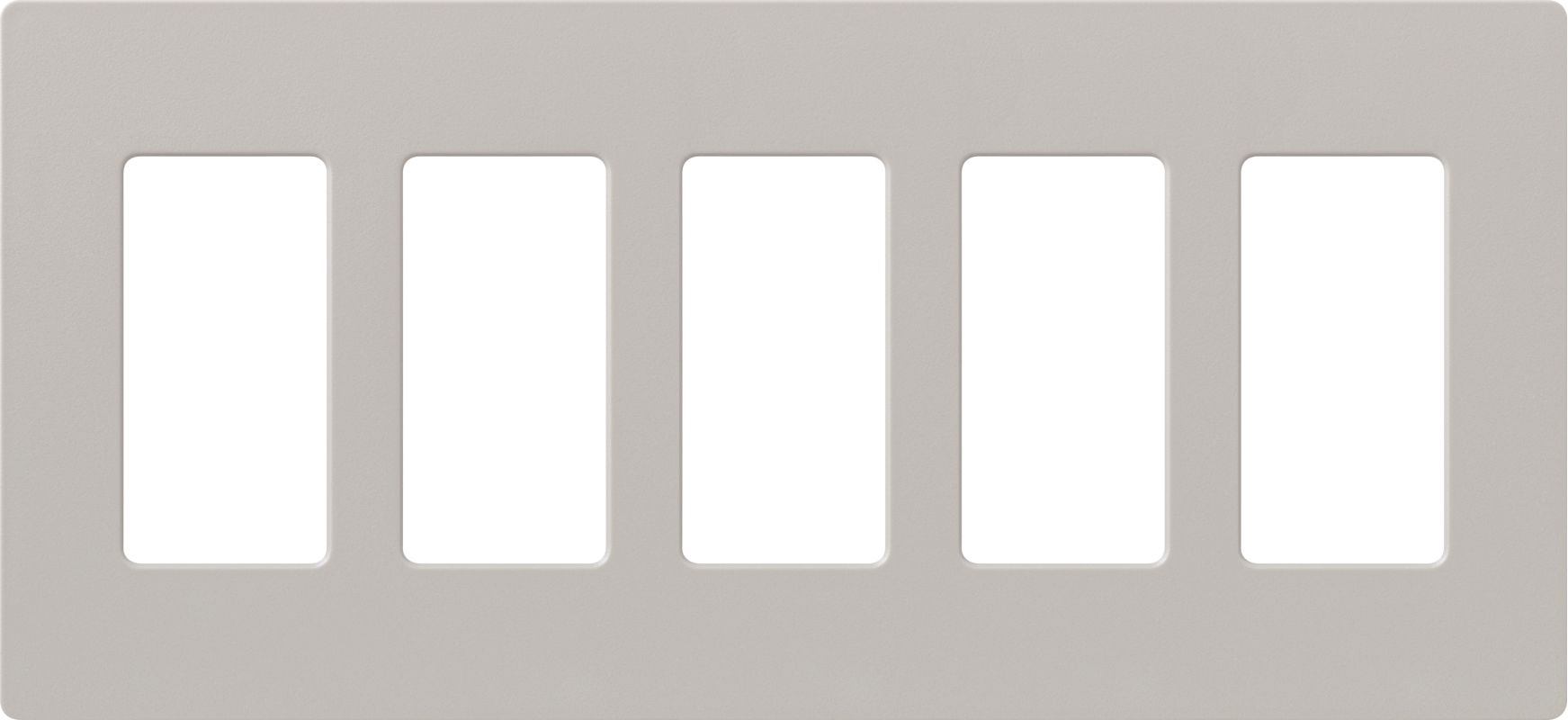 Lutron CW-5 Claro Five Gang Designer Wall Plate Taupe Wall Controls Sale $42.84 ITEM: bci1856028 ID#:SC-5-TP UPC: 27557475976 :