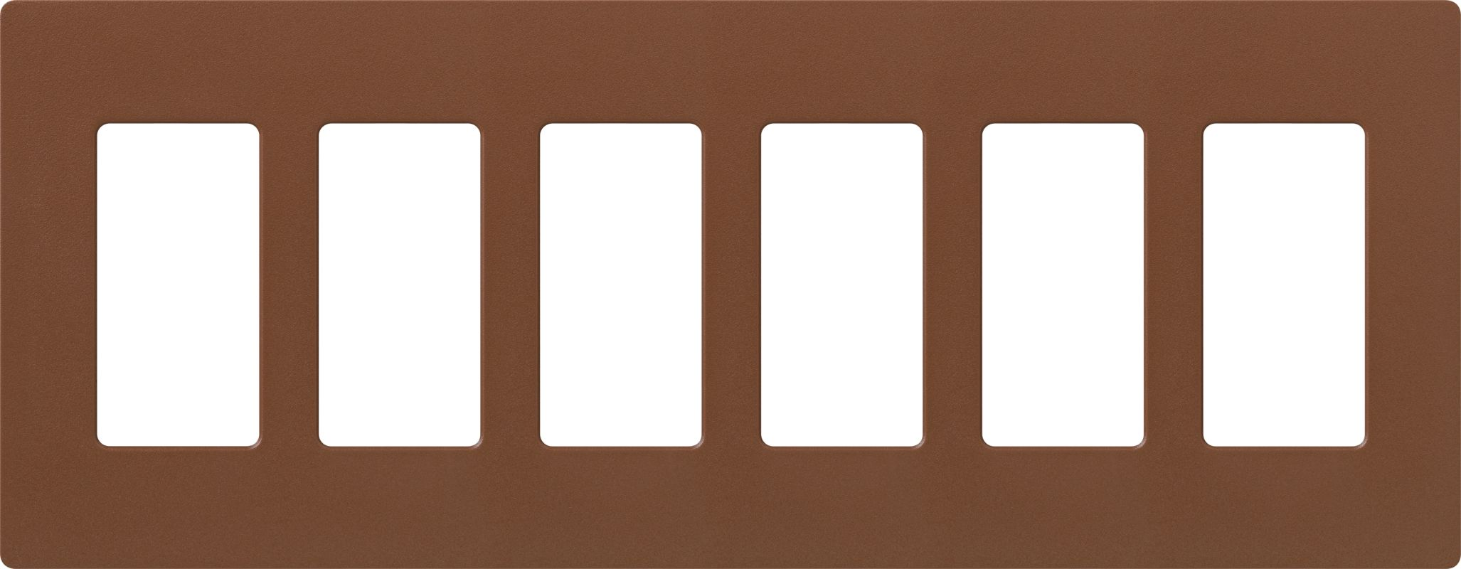 Lutron CW-6 Claro Six Gang Designer Wall Plate Sienna Wall Controls Sale $59.75 ITEM: bci1856044 ID#:SC-6-SI UPC: 27557175838 :