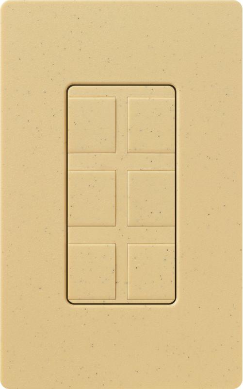 Lutron CA-6PF Claro Designer Six Port Blank Frame Goldstone Indoor Sale $19.00 ITEM: bci1856055 ID#:SC-6PF-GS UPC: 27557265737 :