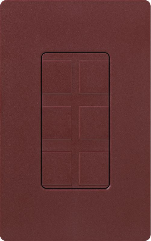 Lutron CA-6PF Claro Designer Six Port Blank Frame Merlot Indoor Sale $19.00 ITEM: bci1856059 ID#:SC-6PF-MR UPC: 27557175203 :