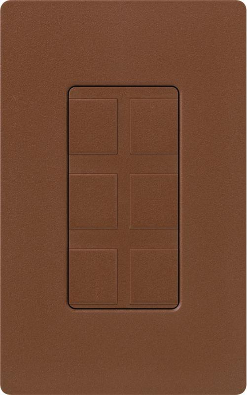 Lutron CA-6PF Claro Designer Six Port Blank Frame Sienna Indoor Sale $19.00 ITEM: bci1856064 ID#:SC-6PF-SI UPC: 27557175173 :