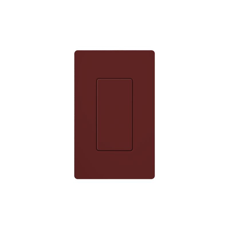 Lutron DV-BI Claro Designer Blank Insert Merlot Indoor Lighting Wall