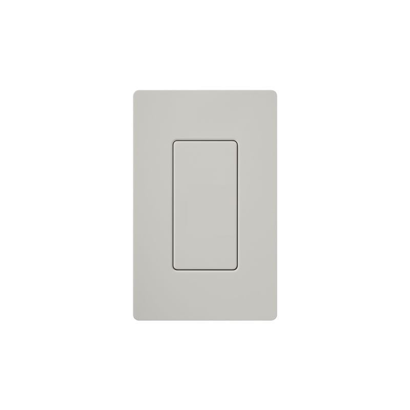 Lutron DV-BI Claro Designer Blank Insert Palladium Indoor Lighting