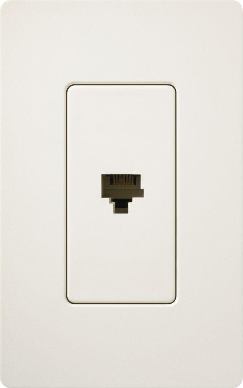 Lutron CA-PJH Claro 6 Conductor Designer Telephone Jack for RJ11 Cable Sale $8.87 ITEM: bci1855815 ID#:SC-PJ-BI UPC: 27557495035 :