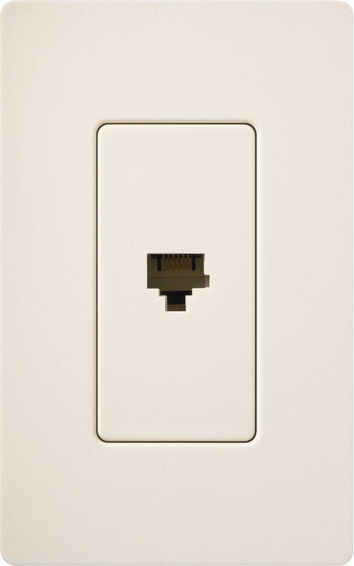 Lutron CA-PJH Claro 6 Conductor Designer Telephone Jack for RJ11 Cable Sale $8.87 ITEM: bci1855817 ID#:SC-PJ-ES UPC: 27557495066 :