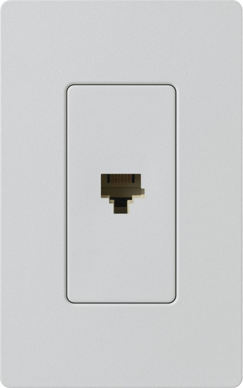 Lutron CA-PJH Claro 6 Conductor Designer Telephone Jack for RJ11 Cable Sale $8.87 ITEM: bci1855825 ID#:SC-PJ-PD UPC: 27557266260 :