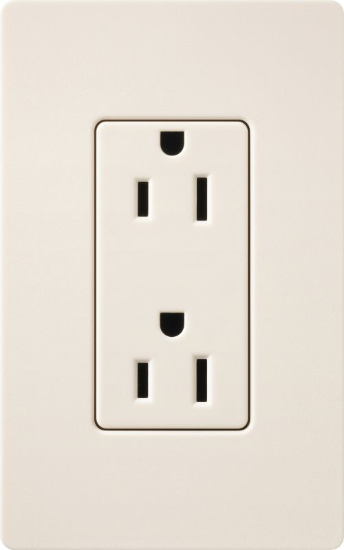 Lutron CAR-15H Claro Canada 15 Ampere 125 Volt Designer Two Outlet Sale $10.36 ITEM: bci1856113 ID#:SCR-15-ES UPC: 27557509503 :