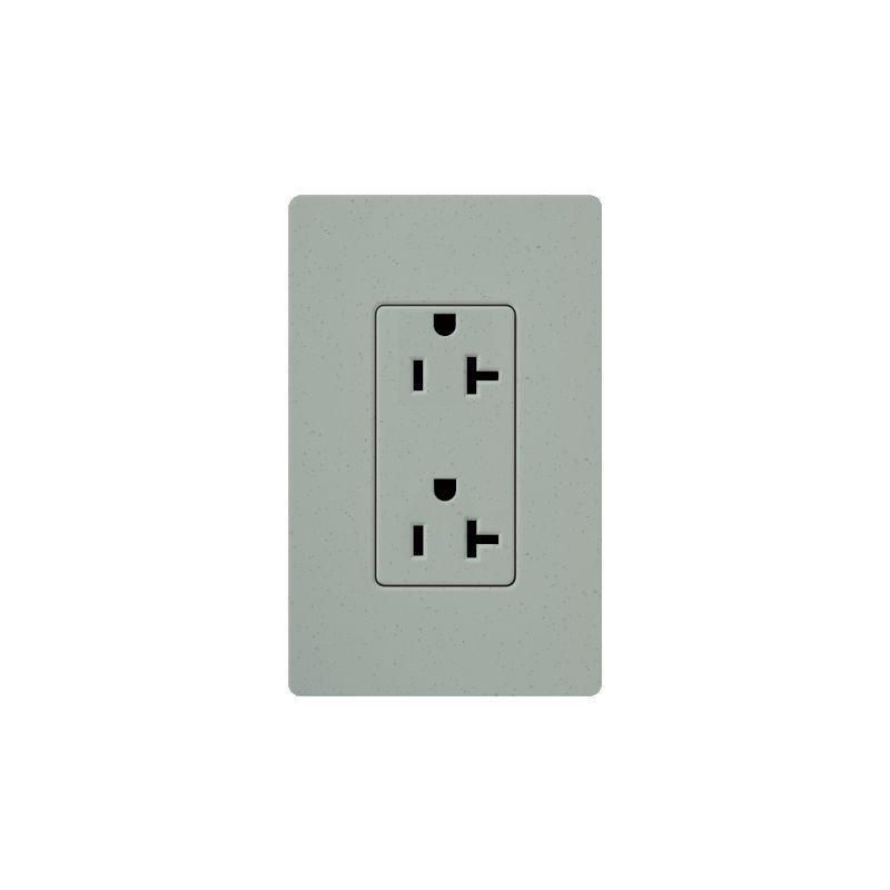 Lutron SCR-20 Claro 20 Ampere 125 Volt Designer Two Outlet Duplex Sale $20.71 ITEM: bci1856201 ID#:SCR-20-BG UPC: 27557175470 :