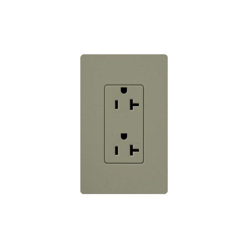Lutron SCR-20 Claro 20 Ampere 125 Volt Designer Two Outlet Duplex Sale $20.71 ITEM: bci1856245 ID#:SCR-20-GB UPC: 27557175463 :