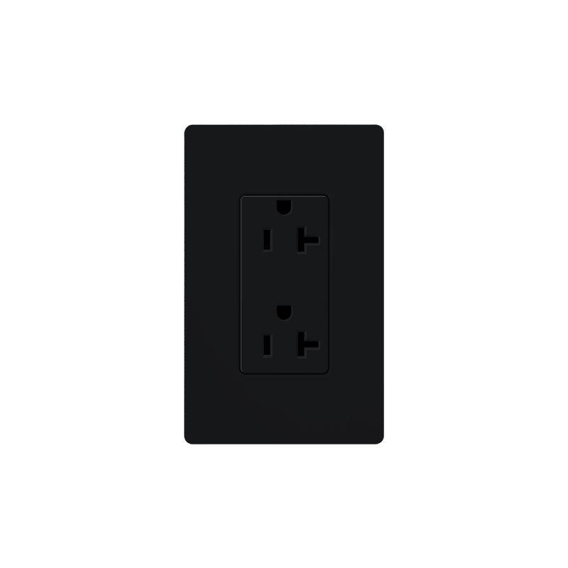 Lutron SCR-20 Claro 20 Ampere 125 Volt Designer Two Outlet Duplex Sale $20.71 ITEM: bci1856311 ID#:SCR-20-MN UPC: 27557029858 :