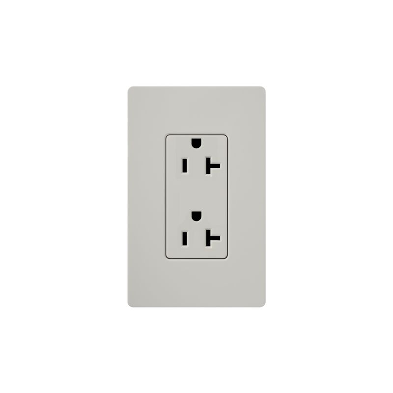 Lutron SCR-20 Claro 20 Ampere 125 Volt Designer Two Outlet Duplex Sale $20.71 ITEM: bci1856314 ID#:SCR-20-PD UPC: 27557266192 :