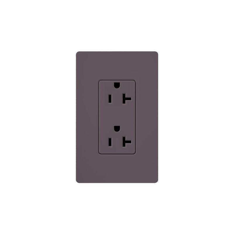 Lutron SCR-20 Claro 20 Ampere 125 Volt Designer Two Outlet Duplex Sale $20.71 ITEM: bci1856315 ID#:SCR-20-PL UPC: 27557266741 :
