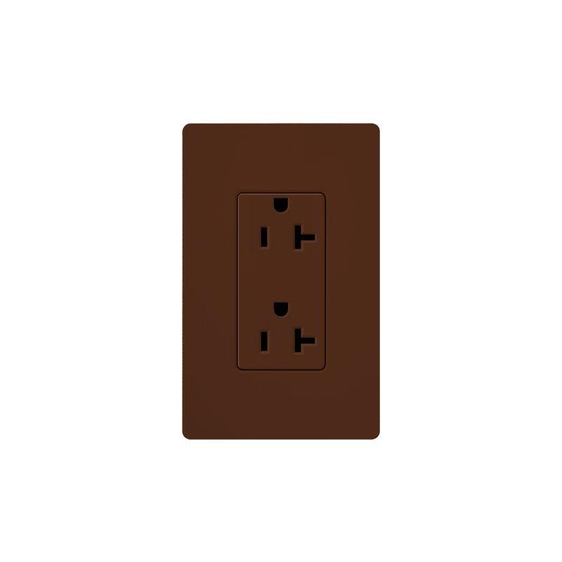 Lutron SCR-20 Claro 20 Ampere 125 Volt Designer Two Outlet Duplex Sale $20.71 ITEM: bci1856317 ID#:SCR-20-SI UPC: 27557175456 :
