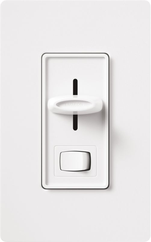 Lutron SF-3P-WH 120 Volt 3-Way Fluorescent 3-Wire Preset Dimmer from