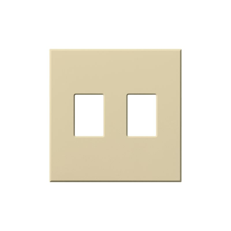 Lutron VWP-2 Architectural Two Gang wall plate for Two Dimmers or Sale $19.07 ITEM: bci1857249 ID#:VWP-2-IV UPC: 27557689397 :
