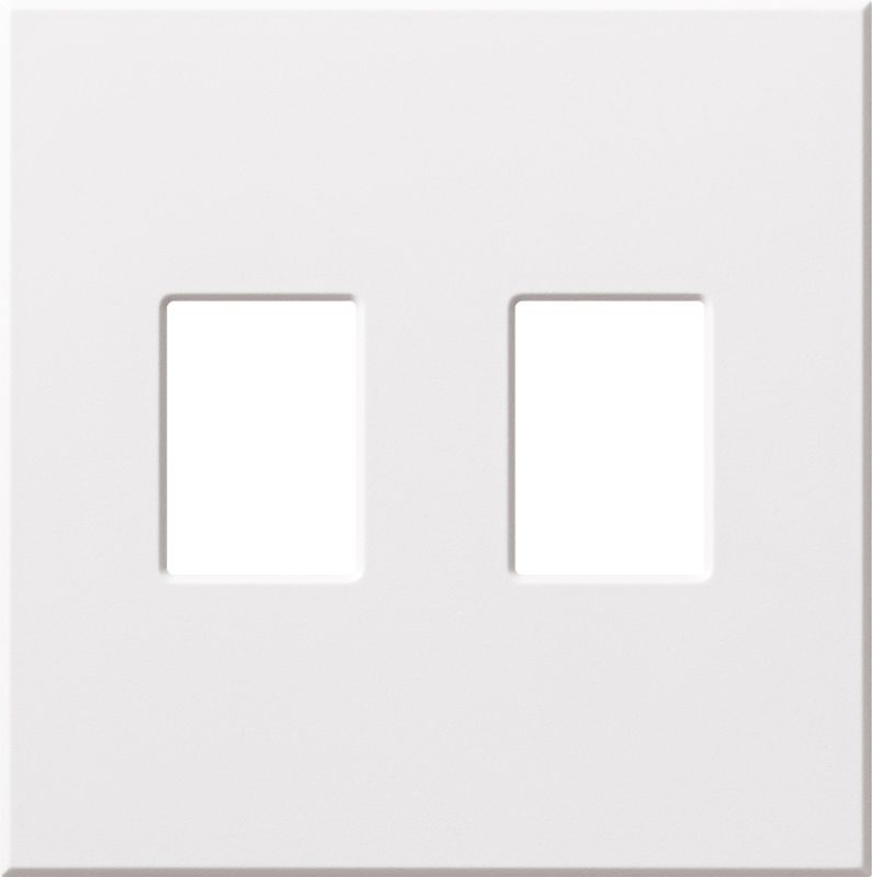 Lutron VWP-2 Architectural Two Gang wall plate for Two Dimmers or Sale $19.07 ITEM: bci1857253 ID#:VWP-2-WH UPC: 27557689342 :