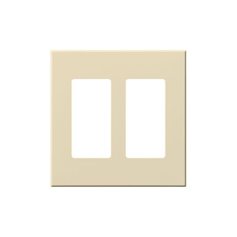 Lutron VWP-2R Architectural Two Gang wall plate for Two Accessory Sale $19.07 ITEM: bci1857265 ID#:VWP-2R-BE UPC: 27557689595 Lutron VWP-2R Architectural Two Gang wall plate for Two Accessory Receptacles Ten finishes are available for this two gang wall plate featuring holes for two architectural style accessories. Lutron VWP-2R Features: Compatible with Vareo®, Nova T® and GRAFIK Eye® wall stations Available in 10 colors Button not included The story of Lutron began in a makeshift lab in a New York City home in 1959 where Joel Spira emerged with a radical new innovation in home lighting: the solid-state rotary dimmer. In almost 50 years of innovation, Lutron has invented hundreds of lighting control devices and systems, and expanded their product offering from 2 products to 15,000. Lutron dimmers not only set the perfect mood in a home, they also reduce energy consumption and extend lamp life. Taken as a whole, Lutron light controls have reduced electrical use by 9.2 billion kWh, reducing their customers' electric bills by $1 billion annually. The company has advanced the technology of lighting control while focusing on exceptional quality and design. Since the beginning, the company has maintained exceptional service, offering 24-hour technical support for its products, and a friendly customer service department. :