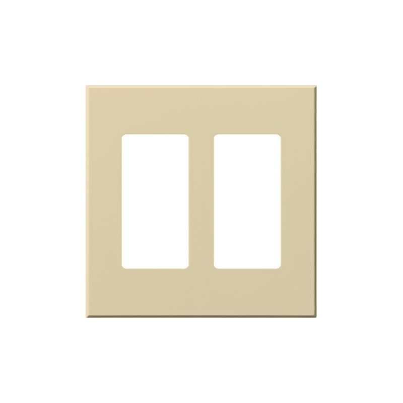 Lutron VWP-2R Architectural Two Gang wall plate for Two Accessory Sale $19.07 ITEM: bci1857269 ID#:VWP-2R-IV UPC: 27557689632 Lutron VWP-2R Architectural Two Gang wall plate for Two Accessory Receptacles Ten finishes are available for this two gang wall plate featuring holes for two architectural style accessories. Lutron VWP-2R Features: Compatible with Vareo®, Nova T® and GRAFIK Eye® wall stations Available in 10 colors Button not included The story of Lutron began in a makeshift lab in a New York City home in 1959 where Joel Spira emerged with a radical new innovation in home lighting: the solid-state rotary dimmer. In almost 50 years of innovation, Lutron has invented hundreds of lighting control devices and systems, and expanded their product offering from 2 products to 15,000. Lutron dimmers not only set the perfect mood in a home, they also reduce energy consumption and extend lamp life. Taken as a whole, Lutron light controls have reduced electrical use by 9.2 billion kWh, reducing their customers' electric bills by $1 billion annually. The company has advanced the technology of lighting control while focusing on exceptional quality and design. Since the beginning, the company has maintained exceptional service, offering 24-hour technical support for its products, and a friendly customer service department. :