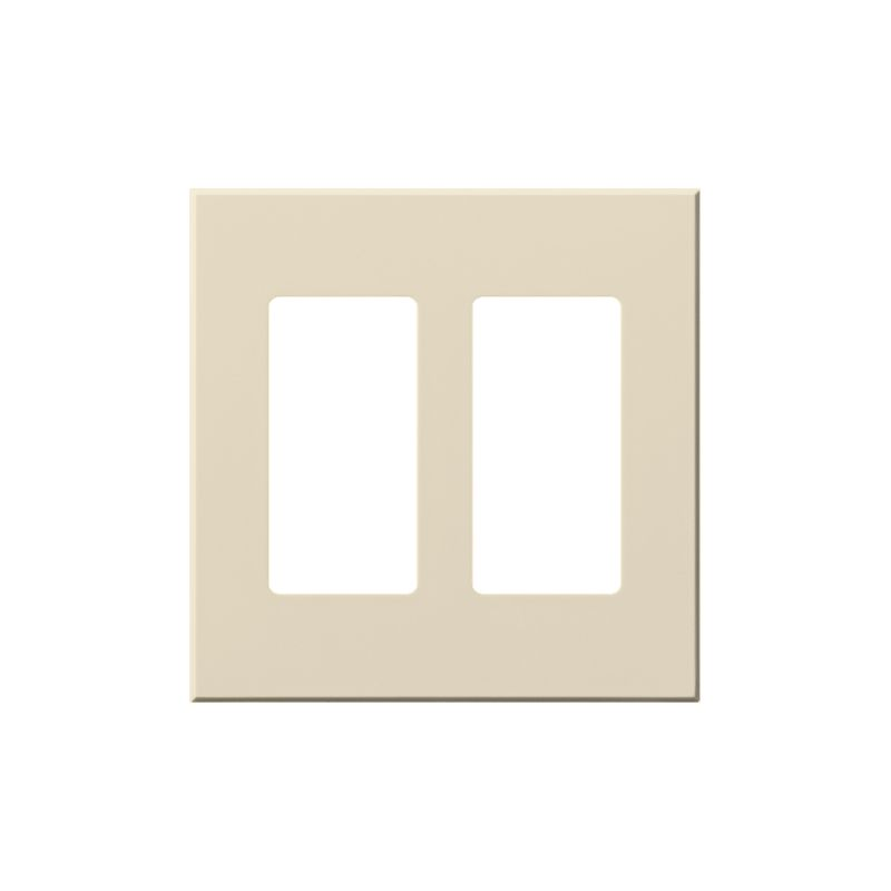 Lutron VWP-2R Architectural Two Gang wall plate for Two Accessory Sale $19.07 ITEM: bci1857270 ID#:VWP-2R-LA UPC: 27557177375 Lutron VWP-2R Architectural Two Gang wall plate for Two Accessory Receptacles Ten finishes are available for this two gang wall plate featuring holes for two architectural style accessories. Lutron VWP-2R Features: Compatible with Vareo®, Nova T® and GRAFIK Eye® wall stations Available in 10 colors Button not included The story of Lutron began in a makeshift lab in a New York City home in 1959 where Joel Spira emerged with a radical new innovation in home lighting: the solid-state rotary dimmer. In almost 50 years of innovation, Lutron has invented hundreds of lighting control devices and systems, and expanded their product offering from 2 products to 15,000. Lutron dimmers not only set the perfect mood in a home, they also reduce energy consumption and extend lamp life. Taken as a whole, Lutron light controls have reduced electrical use by 9.2 billion kWh, reducing their customers' electric bills by $1 billion annually. The company has advanced the technology of lighting control while focusing on exceptional quality and design. Since the beginning, the company has maintained exceptional service, offering 24-hour technical support for its products, and a friendly customer service department. :