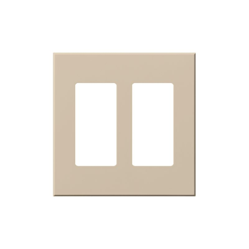Lutron VWP-2R Architectural Two Gang wall plate for Two Accessory Sale $19.07 ITEM: bci1857272 ID#:VWP-2R-TP UPC: 27557689656 Lutron VWP-2R Architectural Two Gang wall plate for Two Accessory Receptacles Ten finishes are available for this two gang wall plate featuring holes for two architectural style accessories. Lutron VWP-2R Features: Compatible with Vareo®, Nova T® and GRAFIK Eye® wall stations Available in 10 colors Button not included The story of Lutron began in a makeshift lab in a New York City home in 1959 where Joel Spira emerged with a radical new innovation in home lighting: the solid-state rotary dimmer. In almost 50 years of innovation, Lutron has invented hundreds of lighting control devices and systems, and expanded their product offering from 2 products to 15,000. Lutron dimmers not only set the perfect mood in a home, they also reduce energy consumption and extend lamp life. Taken as a whole, Lutron light controls have reduced electrical use by 9.2 billion kWh, reducing their customers' electric bills by $1 billion annually. The company has advanced the technology of lighting control while focusing on exceptional quality and design. Since the beginning, the company has maintained exceptional service, offering 24-hour technical support for its products, and a friendly customer service department. :