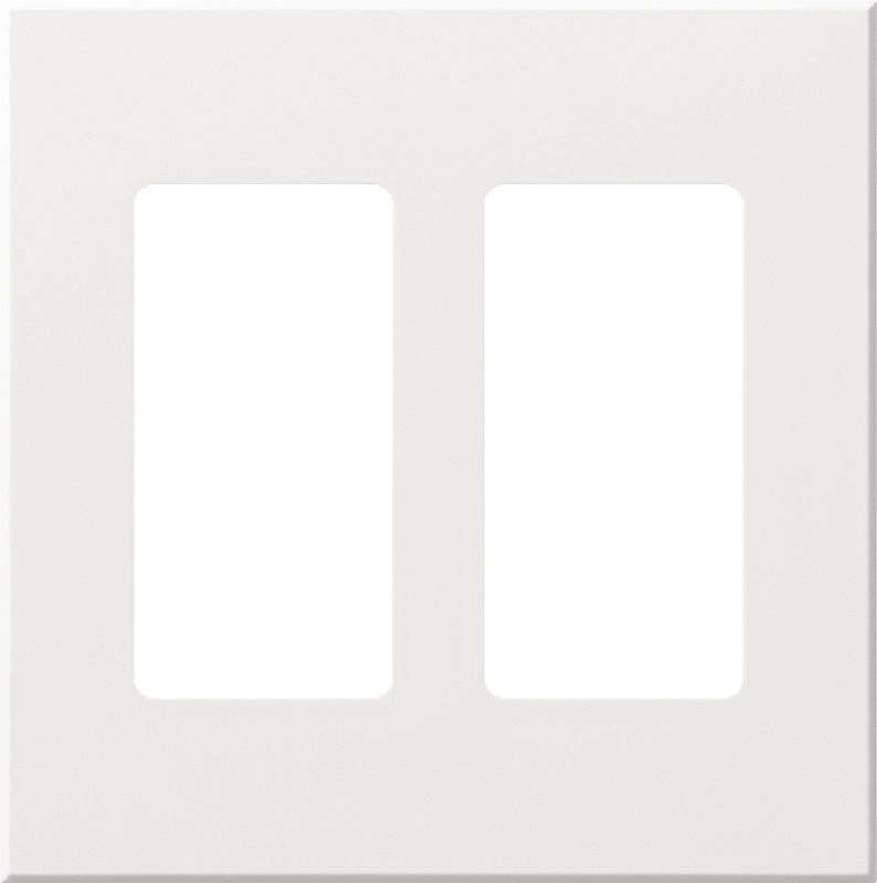 Lutron VWP-2R Architectural Two Gang wall plate for Two Accessory Sale $19.07 ITEM: bci1857273 ID#:VWP-2R-WH UPC: 27557689588 Lutron VWP-2R Architectural Two Gang wall plate for Two Accessory Receptacles Ten finishes are available for this two gang wall plate featuring holes for two architectural style accessories. Lutron VWP-2R Features: Compatible with Vareo®, Nova T® and GRAFIK Eye® wall stations Available in 10 colors Button not included The story of Lutron began in a makeshift lab in a New York City home in 1959 where Joel Spira emerged with a radical new innovation in home lighting: the solid-state rotary dimmer. In almost 50 years of innovation, Lutron has invented hundreds of lighting control devices and systems, and expanded their product offering from 2 products to 15,000. Lutron dimmers not only set the perfect mood in a home, they also reduce energy consumption and extend lamp life. Taken as a whole, Lutron light controls have reduced electrical use by 9.2 billion kWh, reducing their customers' electric bills by $1 billion annually. The company has advanced the technology of lighting control while focusing on exceptional quality and design. Since the beginning, the company has maintained exceptional service, offering 24-hour technical support for its products, and a friendly customer service department. :