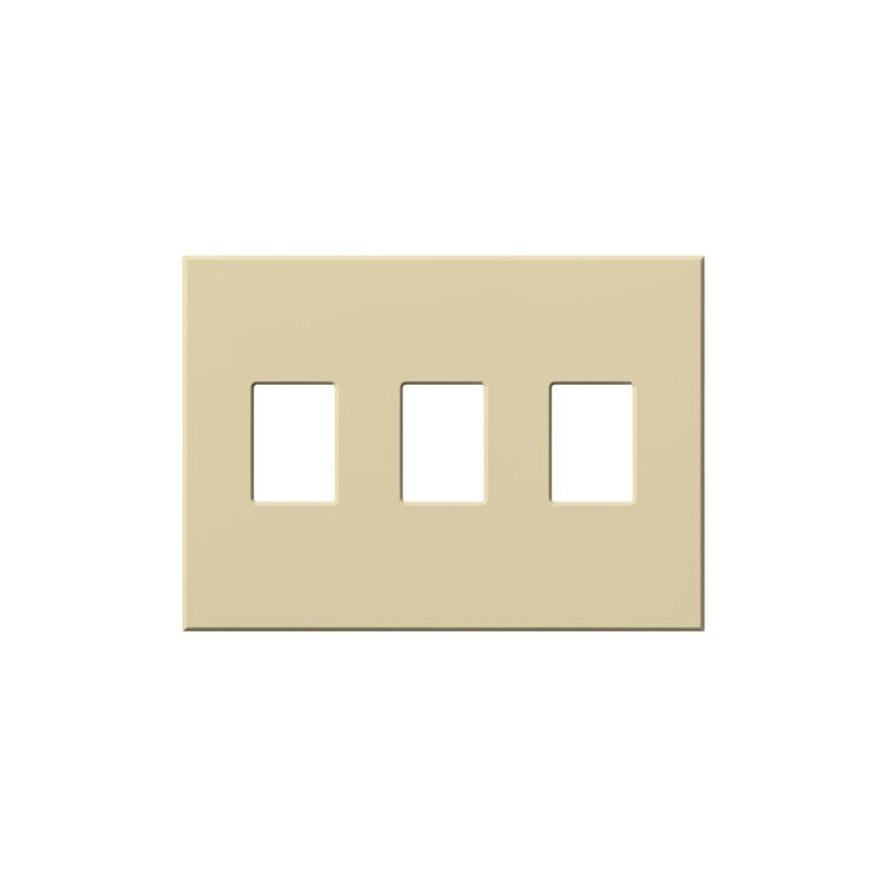 Lutron VWP-3 Architectural Three Gang wall plate for Three Dimmers or Sale $34.72 ITEM: bci1857289 ID#:VWP-3-IV UPC: 27557689472 :