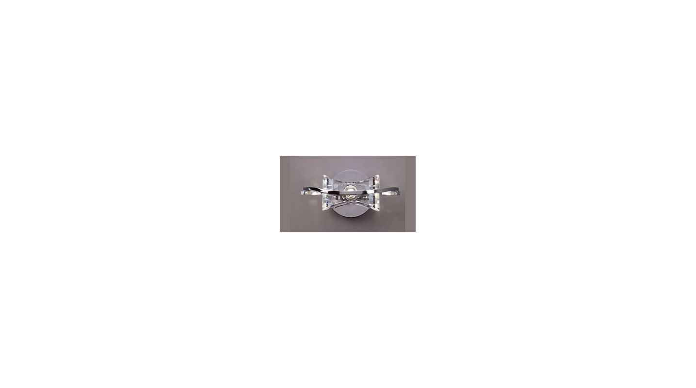 Mantra Lighting 0881CH Krom 1 Light Wall Sconce Polished Chrome Indoor
