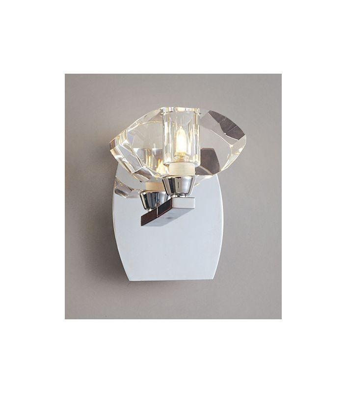 Mantra Lighting 0401CH Alfa 1 Light ADA Compliant Wall Sconce Polished