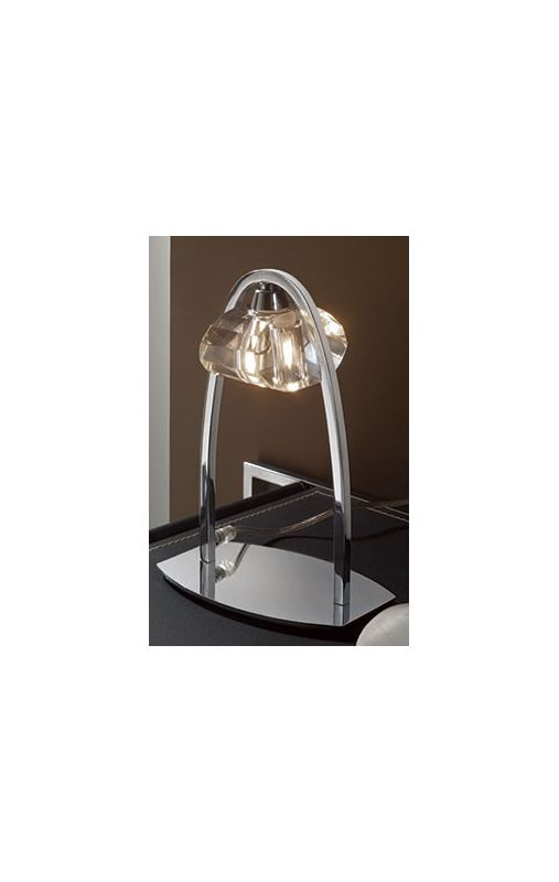 Mantra Lighting 0425 Alfa Single Light Accent Lamp Polished Chrome