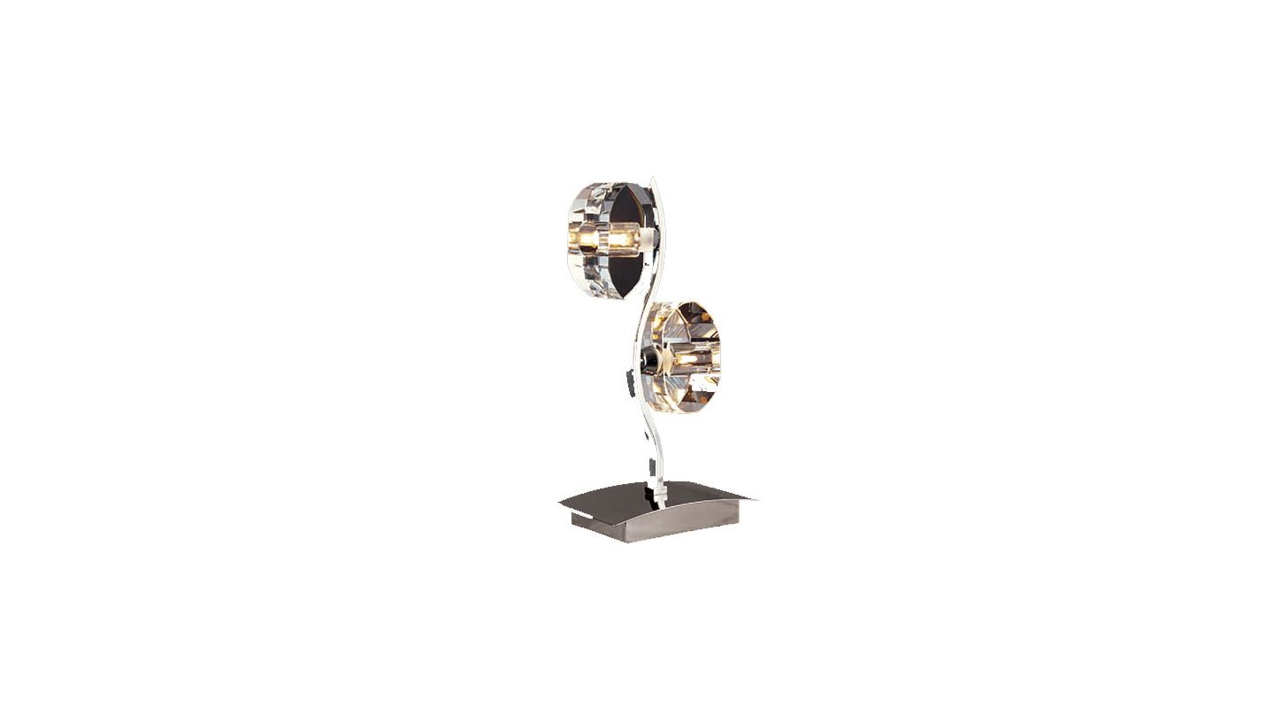 Mantra Lighting 0427 Alfa 2 Light Table Lamp Polished Chrome Lamps