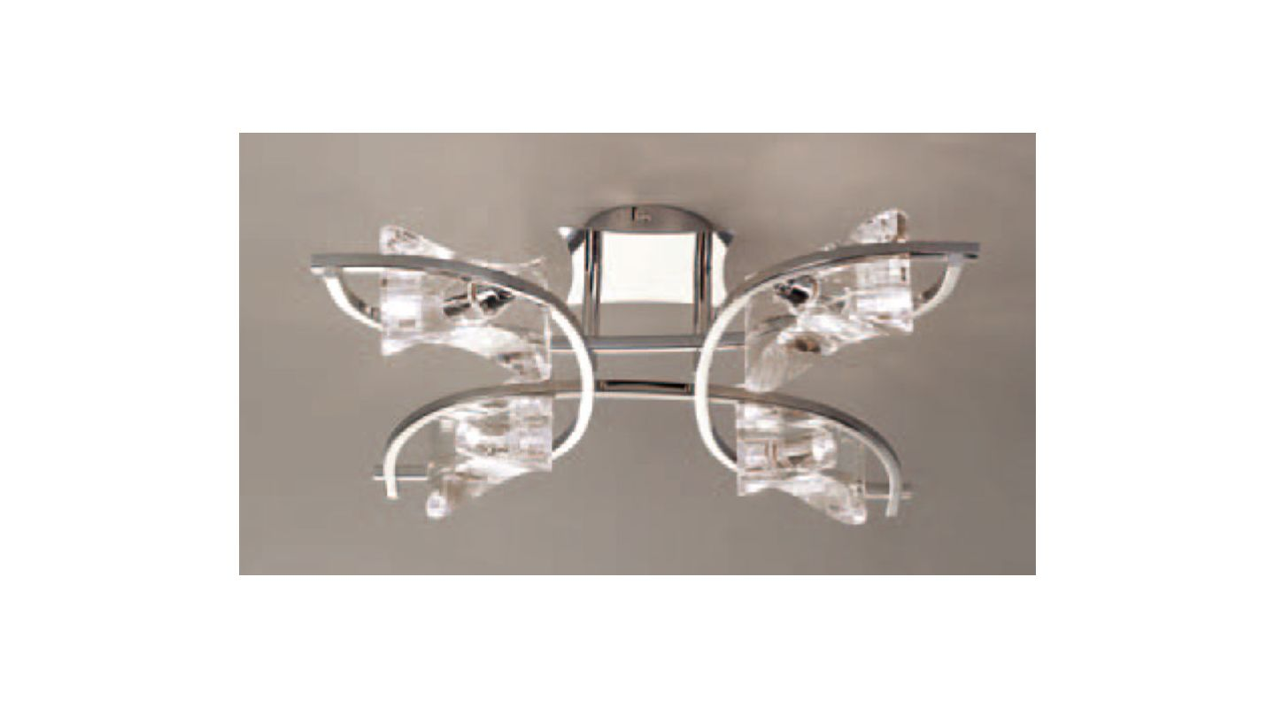 Mantra Lighting 0883CH Krom 3 Light Wall Sconce Polished Nickel Indoor Sale $414.00 ITEM: bci2433053 ID#:Krom K0883CH UPC: 8435153208836 :