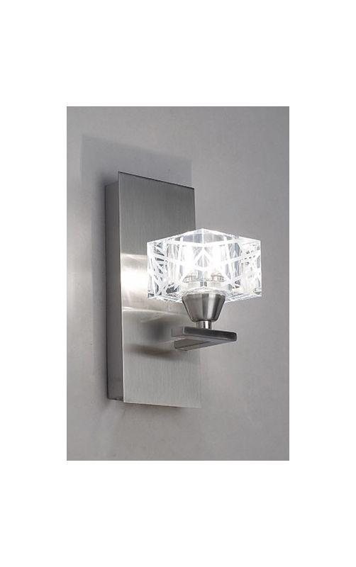 Mantra Lighting 1451SN Zen 1 Light Wall Sconce Satin Nickel Indoor Sale $103.50 ITEM: bci2433080 ID#:Zen Z1451SN UPC: 8435153214516 :
