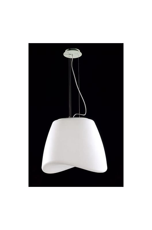 Mantra Lighting 1505 Cool 3 Light Full Sized Chandelier White Epoxy
