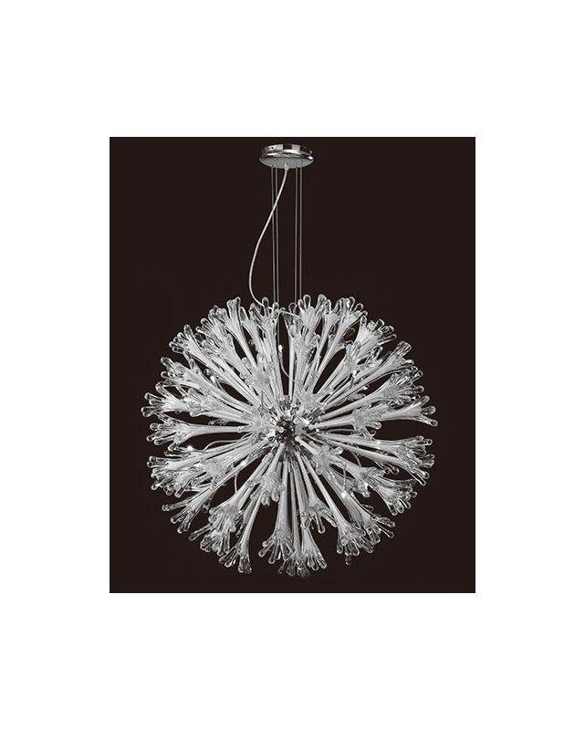 Mantra Lighting 1668 Love 18 Light 1 Tier Chandelier Polished Chrome /