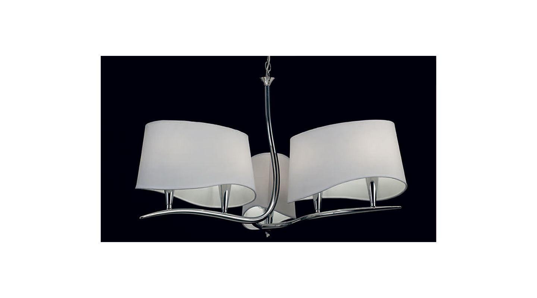 Mantra Lighting 1900 Ninette 6 Light 1 Tier Chandelier Polished Chrome Sale $548.55 ITEM: bci2432982 ID#:Ninette 1900 UPC: 8435153219009 :
