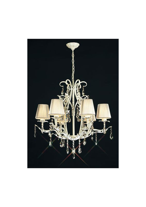 Mantra Lighting 2197 Misc 6 Light 1 Tier Crystal Chandelier Metal Sale $983.25 ITEM: bci2432959 ID#:2197 UPC: 8435153221972 :