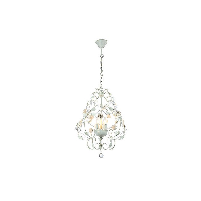 Mantra Lighting 2805 Misc 3 Light Full Sized Chandelier Matte White