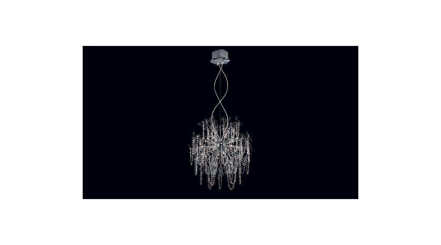 Mantra Lighting 2883 Misc 22 Light 1 Tier Crystal Chandelier Metal Sale $3415.50 ITEM: bci2432975 ID#:2883 UPC: 8435153228834 :