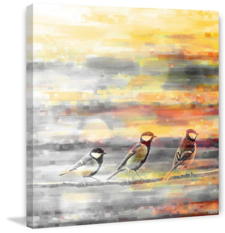 Marmont Hill Pitkin Print on Canvas 48 x 48 Home Decor Canvas Art