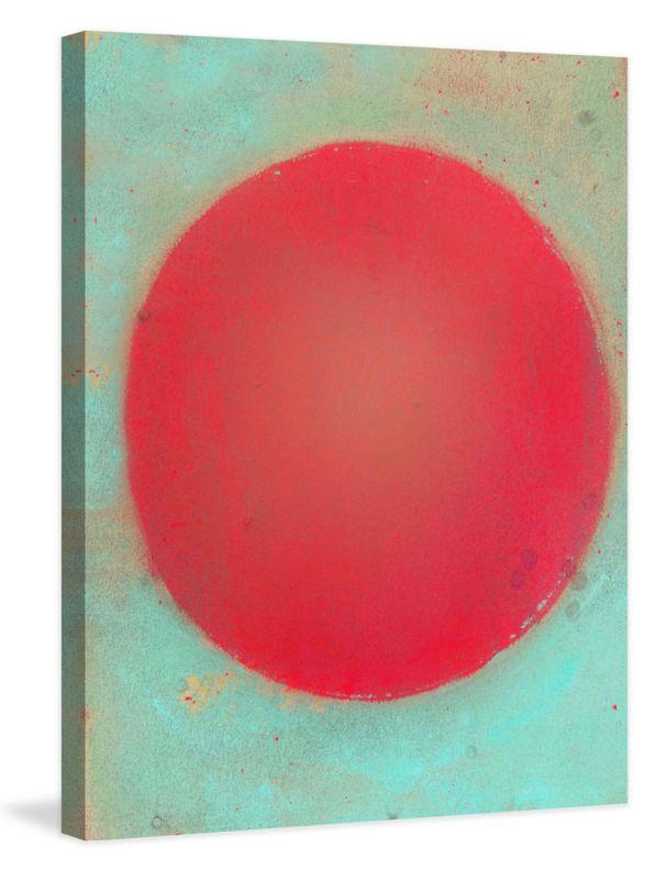 Marmont Hill Brighter World Jorgensen Painting Print on Canvas 60 x 40