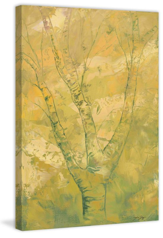 "Marmont Hill Spring Moss ""Spring Moss"" by Julie Joy Painting Print on"