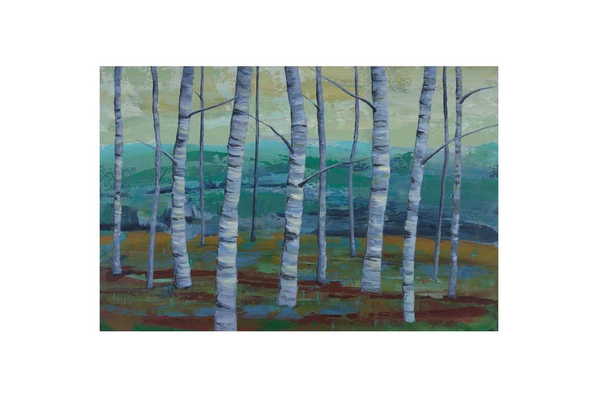 Marmont Hill Twilight Grove II Julie Joy Painting Print on Canvas 16 x