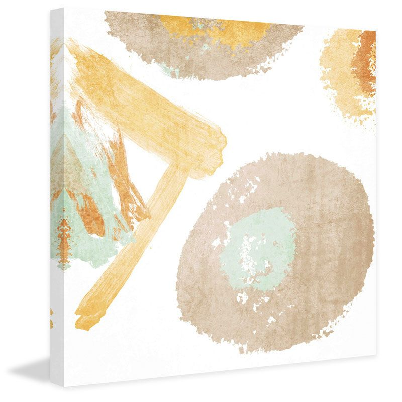 Marmont Hill Abstract Texture Irena Orlov Painting Print on Canvas 48