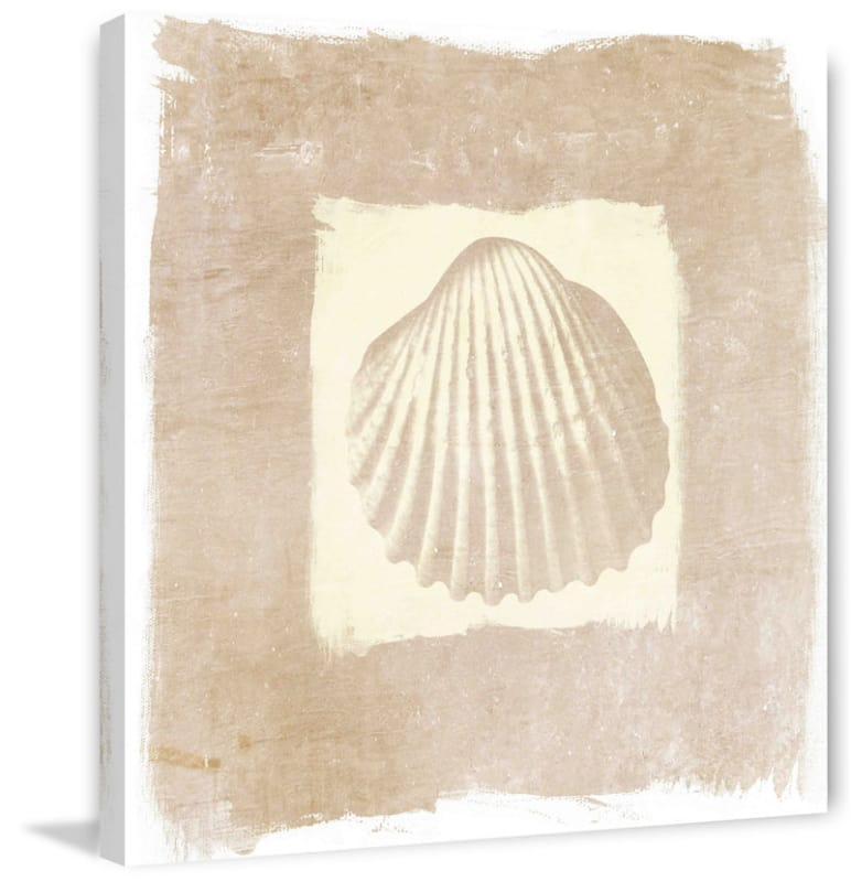 Marmont Hill Sea Shell Irena Orlov Painting Print on Canvas 32 x 32