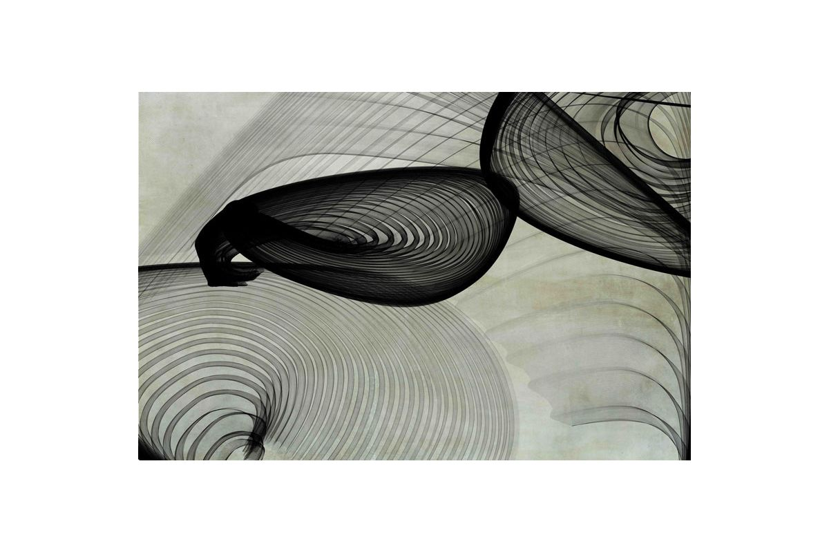 Marmont Hill Abstract Black and White 22-15-51 v2 Irena Orlov Painting