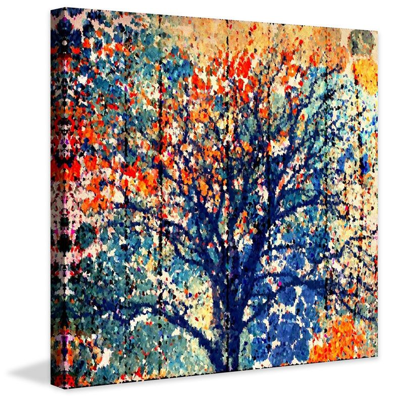 Marmont Hill Fall Season Irena Orlov Painting Print on Canvas 48 x 48