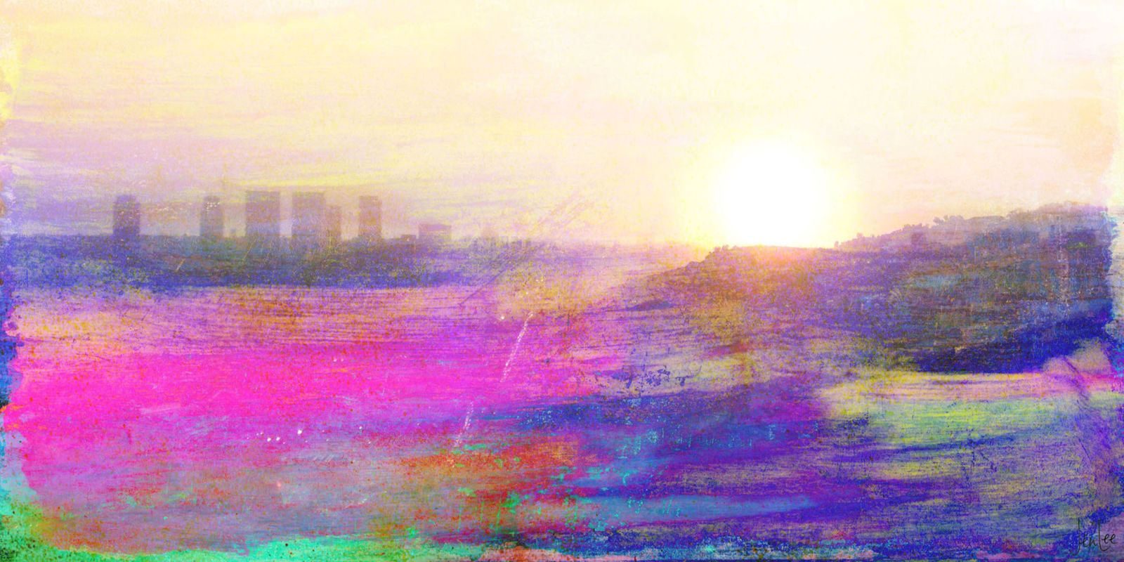 Marmont Hill The View Premium Gallery Wrapped Canvas Art 18 x 36 Home Sale $247.00 ITEM: bci2677651 ID#:Jen Lee-74-C-36 UPC: 799559126155 :