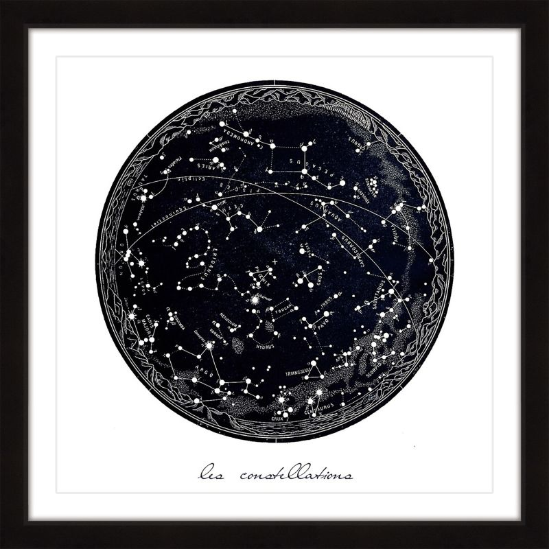"Marmont Hill MH-DNTEL-46-BFP-18 18 Inch x 18 Inch ""Constellations"""