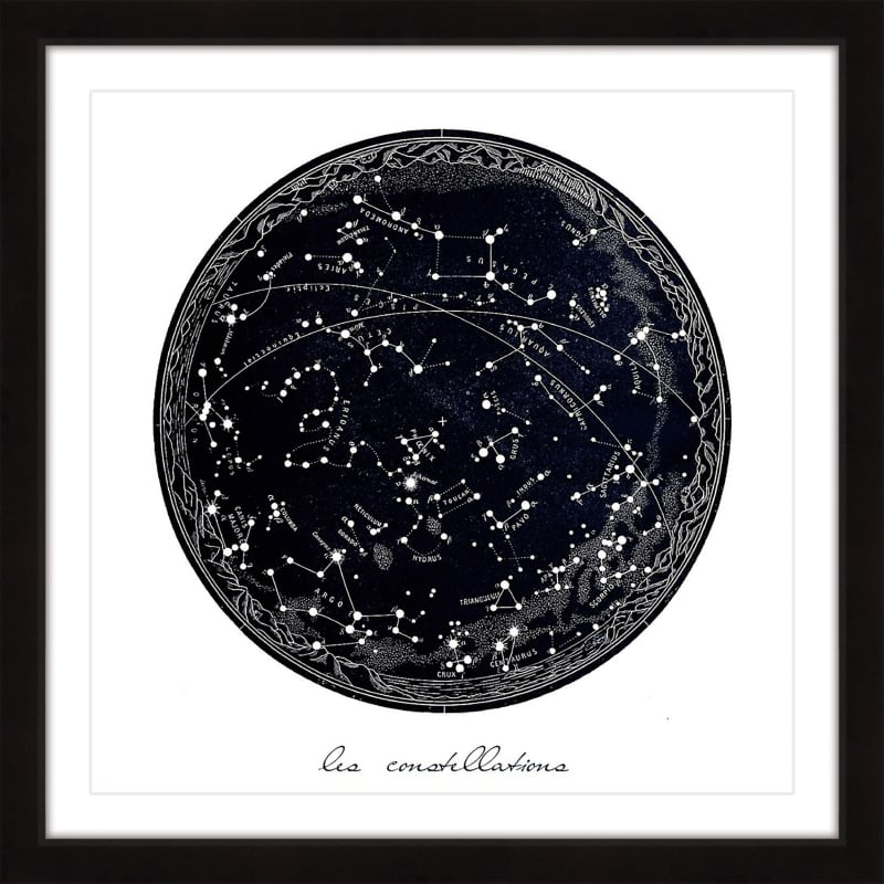 "Marmont Hill MH-DNTEL-46-BFP-32 32 Inch x 32 Inch ""Constellations"""