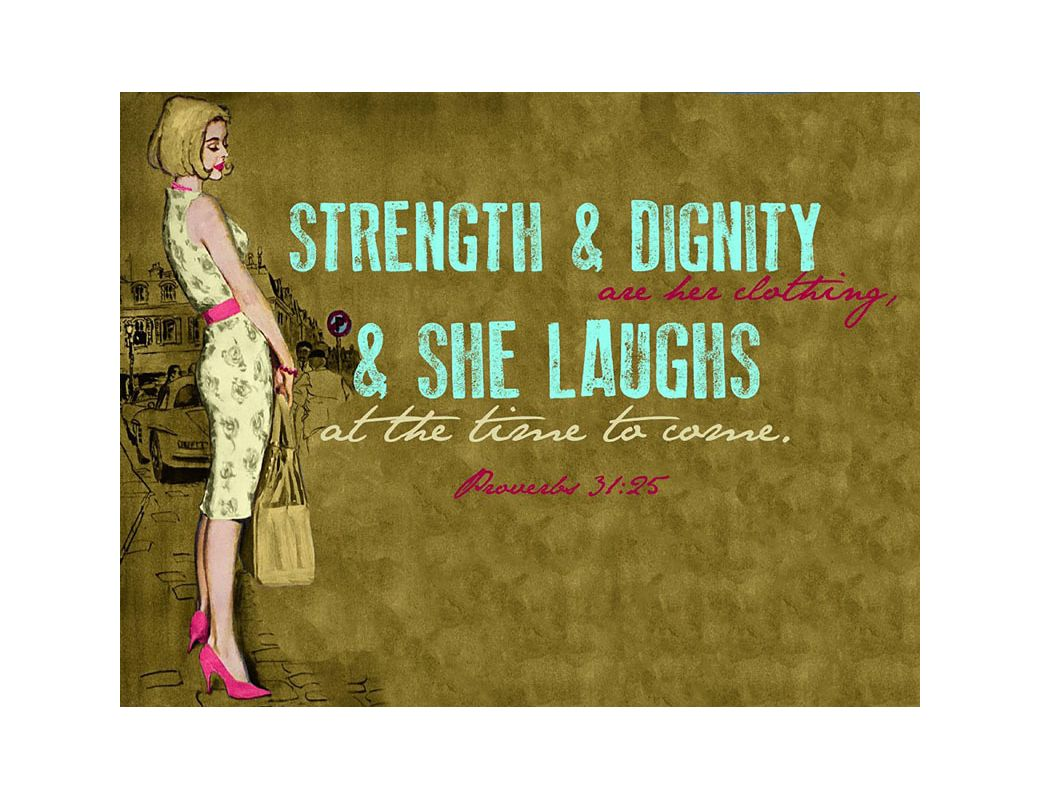 Marmont Hill Strength and Dignity Saturday Evening Post Print on